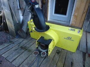 "John Deere 44"" Snow Blower to fit X series lawn Tractors"