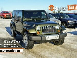 2009 Jeep Wrangler Unlimited Sahara 4dr 4x4