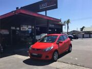 2008 Mazda 2 DE Neo Red 5 Speed Manual Hatchback Boolaroo Lake Macquarie Area Preview