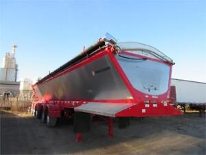 2018 CROSS COUNTRY 48' FIVE AXLE LIVE BOTTOM BELT TRAILER