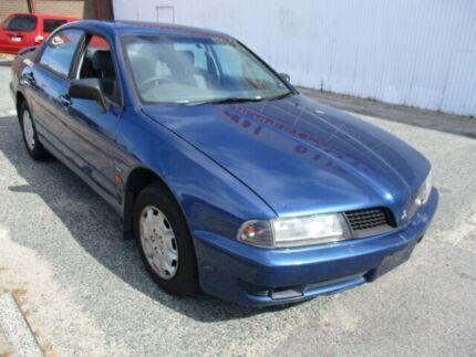 2002 Mitsubishi Magna TJ Executive Blue 4 Speed Automatic Sedan