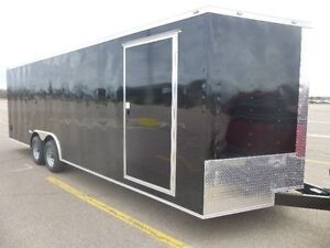 2017 24 foot V nose car hauler trailer
