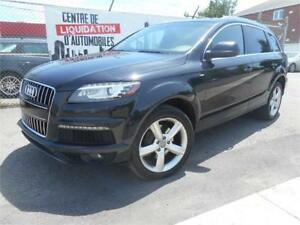 AUDI Q7 Sline 2013 ( NAVIGATION, 7 PASSAGERS, TV-DVD )