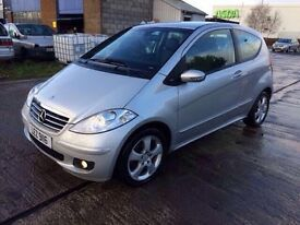 2007 Mercedes-Benz A150 Avantgarde Semi-Auto 3 Door MOT 06.03.2018