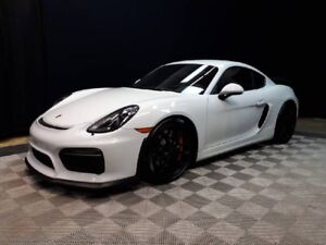 2016 Porsche Cayman GT4 | CPO | Ext. Warranty | 18-way Seats | F
