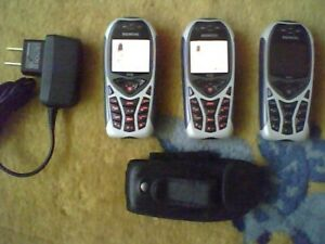 Siemens M55 Germany - Set of 3 Fido Phones