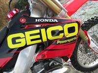 HONDA CR 250 R 2005 MX MOTOCROSS BIKE @ RPM OFFROAD LTD