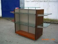 4 x shop display units, £50 for the lot.