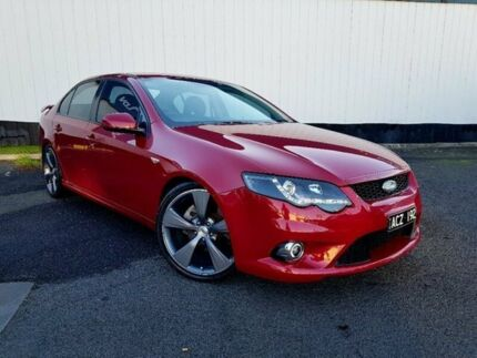 2011 Ford Falcon FG XR6 Turbo Red 6 Speed Sports Automatic Sedan Heidelberg Heights Banyule Area Preview