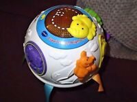 VTech Baby Crawl and Learn Lights Ball TOY.
