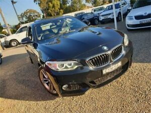 2015 BMW 2 Series F22 220d M Sport Black 8 Speed Sports Automatic Coupe Sylvania Sutherland Area Preview