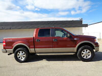 LIFTED--2005 Ford F-150 SuperCrew KING RANCH--H/LEATHER-DVD-HDTV