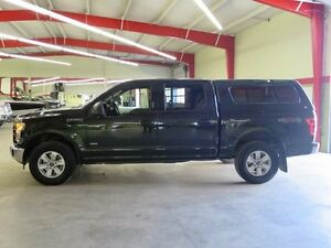 2015 Ford F-150 XLT 4x4 Eco Boost Comes With Matching Topper