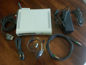 Xbox 360 with 12 games