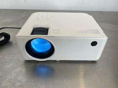 Apeman LC550 Mini Video Projector 4000 Lumen 1080p Supported HDMI VGA USB, SD
