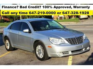 2008 Chrysler Sebring Auto 4-CYL FINANCE 100% APPROVED WARRANTY