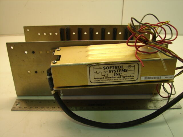 SOFTROL SYSTEMS MICROPULSE MB8-8 SLOT RACK ***XLNT***