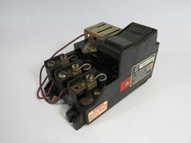 Furnas Electric 11DB107139G Manual Starter 460-575V SLIGHT DAMAGE USED