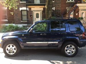 2007 Jeep Liberty 4 x 4 (Trail rated)