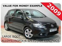 VOLKSWAGEN GOLF PLUS 2.0 GT TDI 5d 138 BHP (black) 2009