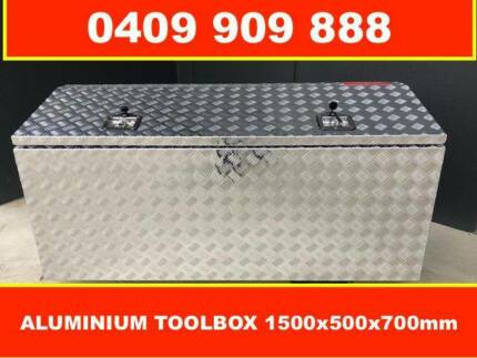 TRAILER ALUMINIUM TOOLBOX 1500x500x700, TOP OPEN, UTE, TRUCK Moorabbin Kingston Area Preview