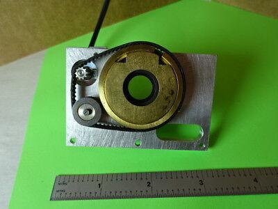 Microscope Part Reichert Polylite Electric Iris Diaphragm Optics 84-a-22