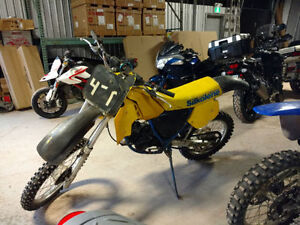 RM125 Two-Stroke with fresh rebuild