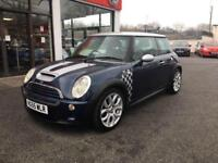 Mini Hatch Cooper 1.6 Cooper S Checkmate 3dr PETROL MANUAL 2005/55
