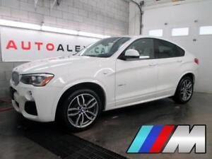 2016 BMW X4 M SPORT xDrive28i TECH PACK 26,000KM 2.99% 112$/SEM
