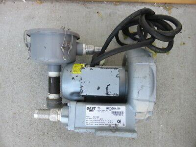 Gast Regenair R1102 Regenerative Air Blower Vacuum W Filter