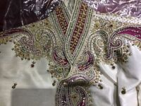 Asian men's wedding functional ceremonial outfit £120
