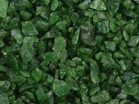 Green Decorative glass