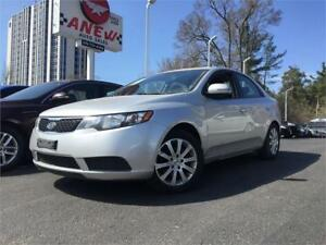 2012 Kia Forte EX 4 DR SEDAN | ONE OWNER | NO ACCIDENTS |LOADED