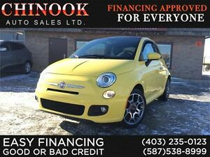 2012 FIAT 500 Sport-Accident Free,Sunroof,Bose Speaker,Bluetooth