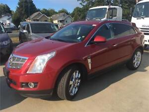 2010 Cadillac SRX V6 Premium V6 RED NAVIGATION Sunroof DVD rear