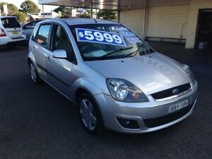 2006 Ford Fiesta WQ Ghia Silver 4 Speed Automatic Hatchback Broadmeadow Newcastle Area Preview