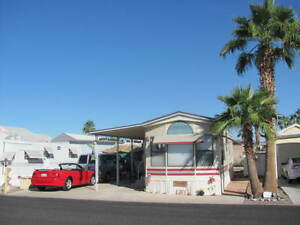 Yuma Arizona Park Model Trailer 1 Bedroom 1 Bath Snowbird Home