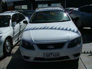 2004 Ford Falcon BA XL Tradesman 4 Speed Auto Seq Sportshift Cab Chassis Coburg North Moreland Area Preview