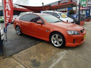 2007 Holden Commodore VE SV6 Orange 6 Speed Manual Sedan
