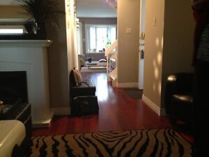Lower level room with exclusive 3 piece bathroom