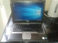 dell d630 laptop plus free dell laptop for spares