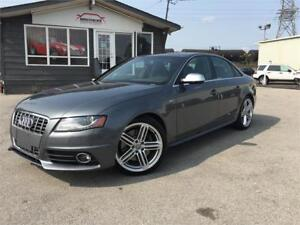 2011 Audi S4 |NAV|RED INTERIOR|NO ACCIDENTS|PRICED TO SELL!!