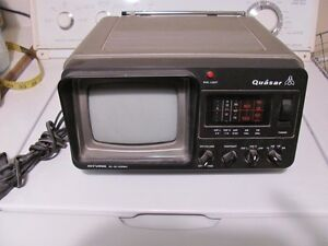 Quasar Mini TV and Radio