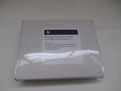Hp Indigo Ca392-01030 Press Service Note Wws6000 Press Software Kit In100