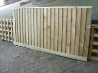 preasure treated 6x3 garden fence panels made to any size 6x2 6x3 6x4 6 x5