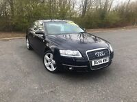 2006 AUDI A6 2.0 TDI SE 6 SPEED BLUE GREAT CAR MUST SEE MOT ONE YEAR £4450 OLDMELDRUM