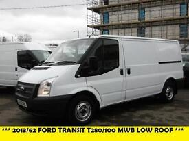 2013 FORD TRANSIT 280/100 MWB LOW ROOF DIESEL VAN WITH ONLY 65.000 MILES PANEL V