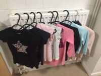 8 items girls age 6-7 years