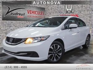 ***2015 Honda Civic Berline EX***FULL/TOIT/CAMERA/514-999-4555.