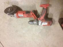 Milwaukee 28 v drill and grinder Forbes Forbes Area Preview
